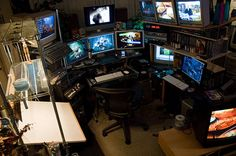 I need to design a nerdroom... with colored lights. and awesomeness.
