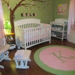Green nursery ideas pink and green nursery green baby boy nursery Baby Nursery Themes, Girl Nursery, Girl Room, Baby Room, Nursery Ideas, Room Ideas, Nursery Curtains, Nursery Rugs, Nursery Decor
