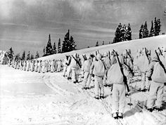 The 10th Mountain Division, shown in 1943, was an elite U.S. military unit comprised of Olympic-caliber skiers, champ- ion ice skaters, mountain climbers, cowboys and miners who trained at Camp Hale in Colorado. Denver Post file