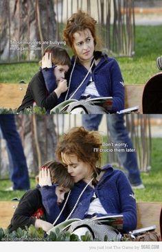 Poor muggles