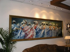 One of my favorites!  Displayed in the Sheraton in Panama!  FABULOUS!