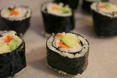 Autoimmune Paleo Cauliflower Sushi