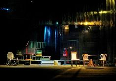 """Long Day's Journey into Night"" E. O'Neill. Tirana National Theatre.Scenic design by Fatbardh Marku"