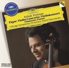 ELGAR Violin Concerto - Perlman / Barenboim - Deutsche Grammophon