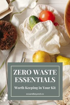 Going zero waste doesn't have to mean completely overhauling your life, small changes still help. Here's the zero waste essentials you need in your life! Going Zero Waste, Zero Waste Store, Bread Bags, Reusable Coffee Cup, Jam Jar, Sustainable Living, Biodegradable Products, Eco Friendly, Essentials