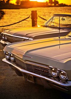 1965 and 1963 Chevrolet Impalas