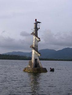 Loreto lighthouse - Dinagat Island, Northern Mindanao, Mindanao, Philippines