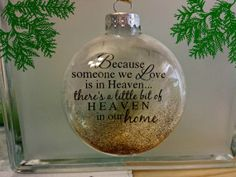 memorial christmas ornaments from heaven