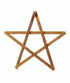 Love this Wood Star on #zulily! #zulilyfinds