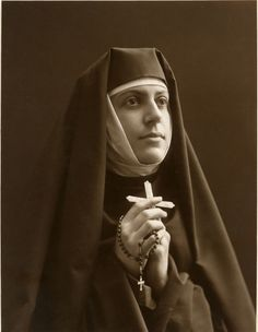 Nun/What I wanted to be when I grew up. Whew, glad that I got over that... Lol