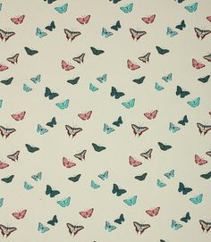 Save on our Multi Butterflies Contemporary Fabric from Sophie Allport. This Regular fabric is perfect for Curtains & Blinds. Roman Blinds, Curtains With Blinds, Blinds For You, English Cottage Style, Sample Box, Contemporary Fabric, Roller Blinds, Butterfly Design, Curtain Fabric