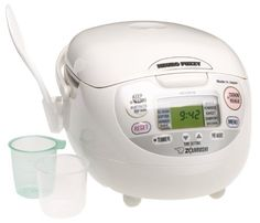 online shopping for Zojirushi (Uncooked) Neuro Fuzzy Rice Cooker Warmer, Premium White, from top store. See new offer for Zojirushi (Uncooked) Neuro Fuzzy Rice Cooker Warmer, Premium White, Korean Rice Cooker, Best Rice Cooker, Slow Cooker, Small Kitchen Appliances, Kitchen Gadgets, Kitchen Tools, Kitchen Small, Kitchen Products, Kitchen Supplies
