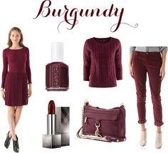 color crush: burgundy