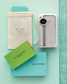 A favorite digital video can be transformed into a photo flip book for repeated enjoyment.