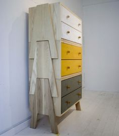 Drawers in a fabulous colour palette