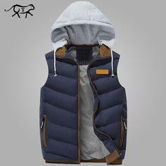 $32.28 Item Type: Outerwear & CoatsOuterwear Type: VestGender: MenDetachable Part: Hat DetachableStyle: CasualClosure Type: ZipperClosure Type: ZipperClothing Leng