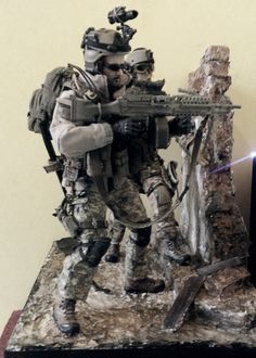 US Army Diorama ( scale 1:6 )