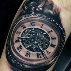 Time piece tattoos
