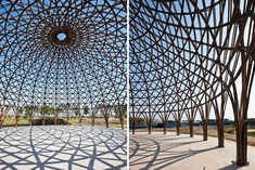 Vo Trong Nghia Architects Channel Bucky Fuller With 8 Community Bamboo Domes in Vietnam | Inhabitat - Sustainable Design Innovation, Eco Architecture, Green Building
