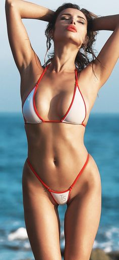 Mini Bikini, Sexy Bikini, Thong Bikini, Mädchen In Bikinis, Bikini Swimwear, Bathing Suits Cheeky, Two Piece Swimsuits, Sexy Women, Fit Women