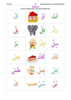 Okul öncesi Için Elif Ba çocuk Kuran Eğitim Seti Arapça
