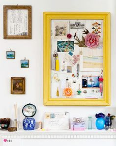 frames frames frames - yes! <love the yellow frame and it's contents>