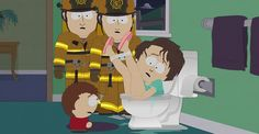 """(SOUTH PARK - 16x1 """"Reverse Cowgirl"""")"""