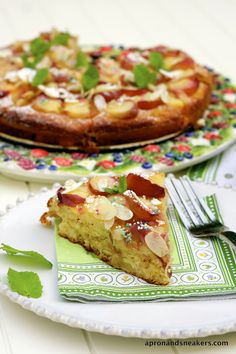 Apron and Sneakers - Cooking & Traveling in Italy and Beyond: Peach and Almond Yogurt Cake