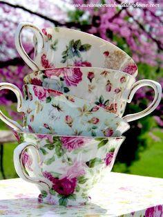 Rose Teacups