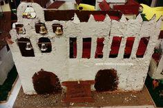 San Gabriel Arcangel Mission built by 4th grade students.