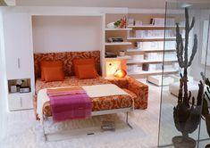 Modern murphy bed.