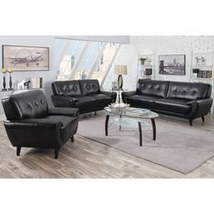 Shop for Hughes Mid-century Tufted Design Living Room Collection. Get free…