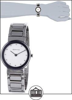 Bering Classic 10126-700 - Reloj analógico de cuarzo para mujer, correa de acero inoxidable color plateado  ✿ Relojes para mujer - (Gama media/alta) ✿
