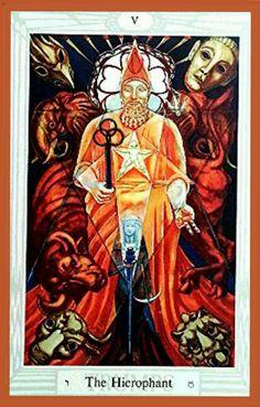 V The Hierophant - El Hierofante
