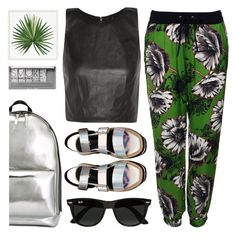 """""""Should I Tell Him or Not?"""" by sweet-jolly-looks ❤ liked on Polyvore featuring Alice + Olivia, Topshop, Ray-Ban, 3.1 Phillip Lim, Pottery Barn and Boohoo"""