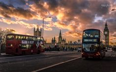 Photograph Sunset on the Westminster bridge by Robin-Angelo Fuso on Westminster Bridge, Robin, Times Square, London, Sunset, Pictures, Photography, Travel, Beautiful Images
