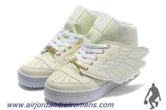 Cheap Adidas X Jeremy Scott Wings Glow In Dark Shoes For Wholesale