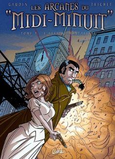 Couverture Les arcanes du Midi-Minuit, tome 09 : L'affaire mentaliste