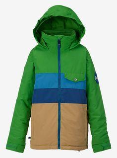 Burton Boys' Symbol Jacket   Burton Snowboards Winter 16