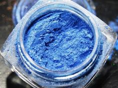 """""""Cinderella""""  A shimmering, magical blue the color of Cinderella's ball gown. www.purelypleasures.net"""