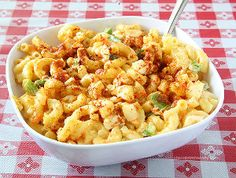Homemade Amish Macaroni Salad | RecipeLion.com