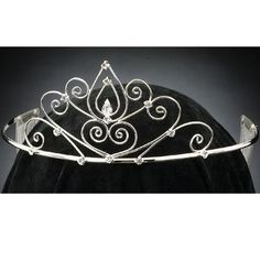 tiara - reminds me of the one on the book covers
