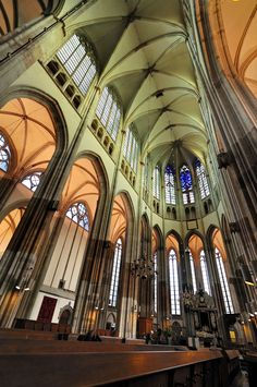 Interior of St. Martin's Cathedral (Utrecht)