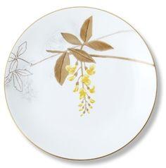 Royal Copenhagen - Frokosttallerken Guldregn 22 cm Flora