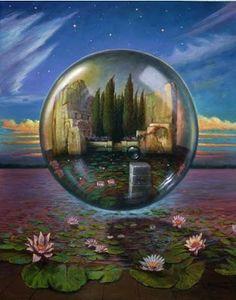 ANTONIO NUNZIANTE Michael Sowa, Surreal Art, Optical Illusions, Dark Fantasy, Trippy, Northern Lights, Graphic Design, Travel, Painting