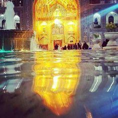 آب حرم امام رضا ع Imam Reza, Hazrat Imam Hussain, Shia Islam, Mosque, Cathedral, Religion, Diy Table, Wallpaper, Iran