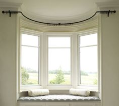 Bay Poles Made To Measure Curtain RailsBay WindowsBay