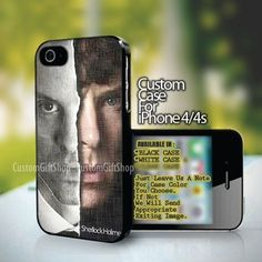 Sherlock Holmes - design for iPhone 4 or 4S case