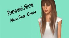Female Hair: Newsea Crow Retexture - The Sims 3 Custom Content