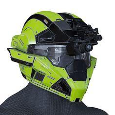 model Halo Helmet halo helmet sci-fi, available in MAX, OBJ, FBX, ready for animation and other projects Halo Master Chief Helmet, Master Chief And Cortana, Taktischer Helm, Helmet Armor, Cosplay Helmet, Cosplay Armor, Halo Spartan, Tactical Helmet, Vintage Helmet